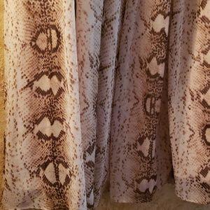 White House Black Market Skirts - Classy Stylish Maxi Skirt Flowy Animal Print